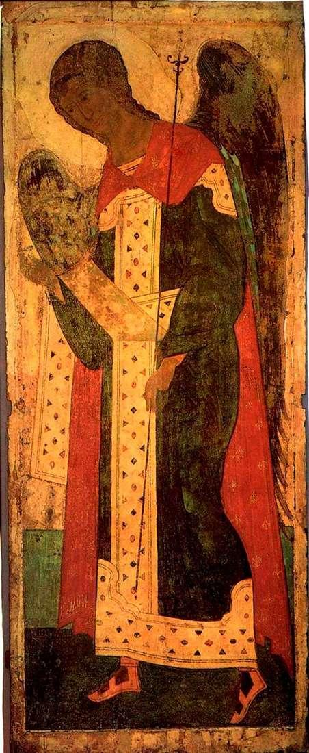Описание иконы Андрея Рублева «Архангел Гавриил»