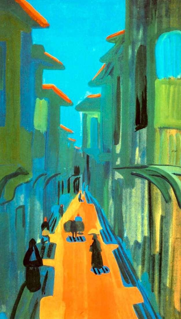 Описание картины Мартироса Сарьяна «Улица. Полдень. Константинополь»