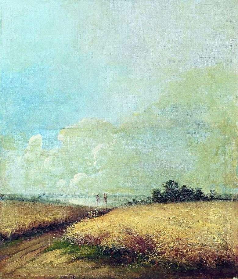 Описание картины Алексея Саврасова «Лето»