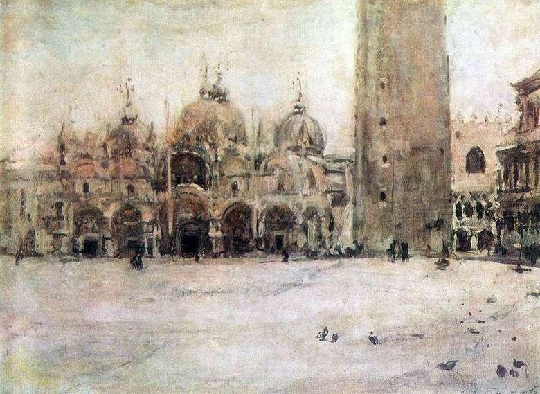 Описание картины Валентина Серова «Площадь святого Марка в Венеции»