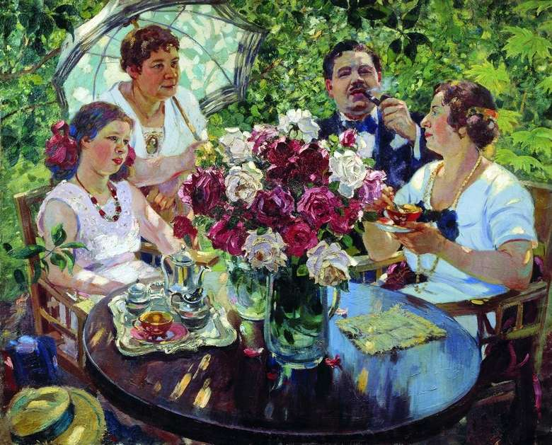Описание картины Александра Герасимова «Семейный портрет»