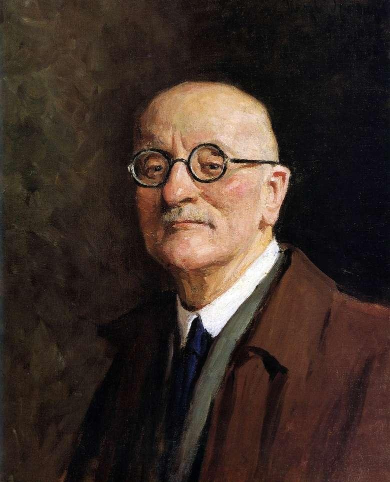 Описание картины Игоря Грабаря «Автопортрет»