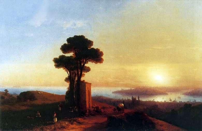 Описание картины Ивана Айвазовского «Вид Константинополя»
