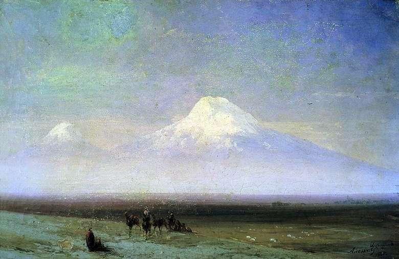 Описание картины Ивана Айвазовского «Гора Арарат»