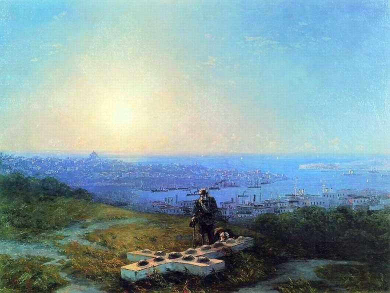 Описание картины Ивана Айвазовского «Малахов курган»