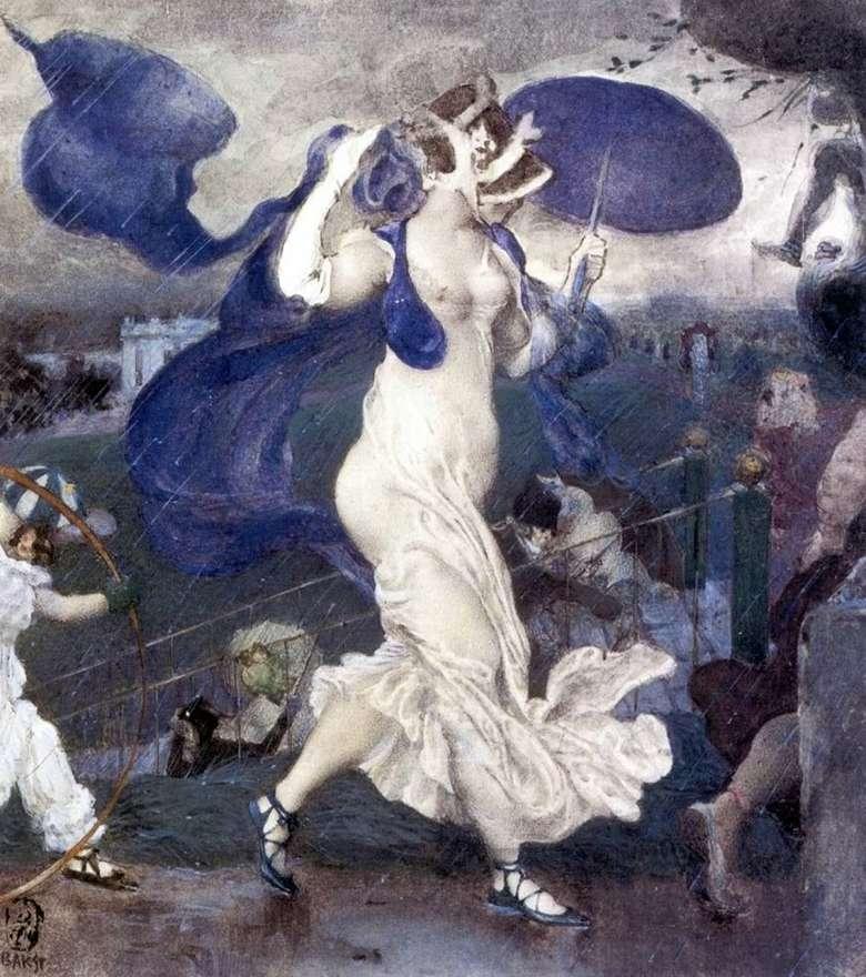 Описание картины Леона Бакста «Ливень»