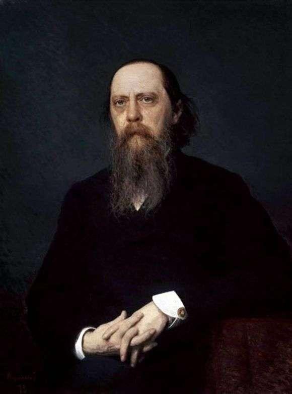 Описание картины Ивана Крамского «Портрет Михаила Салтыкова Щедрина»