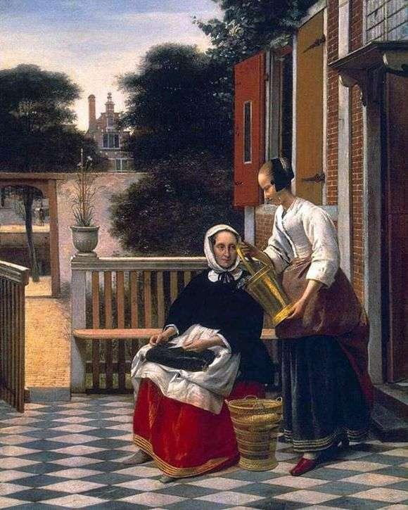 Описание картины Питера де Хоха «Хозяйка и служанка»