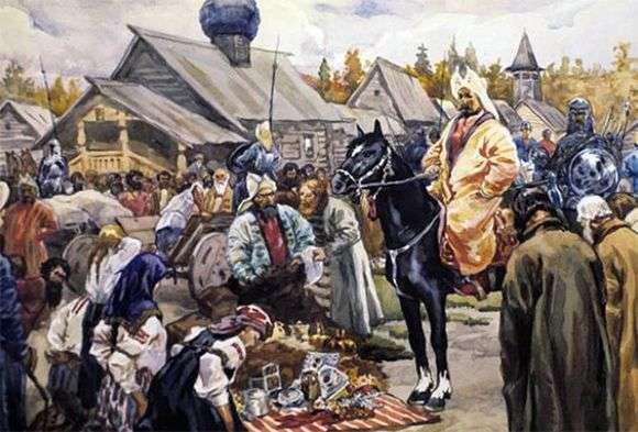 Описание картины Сергея Иванова «Баскаки»