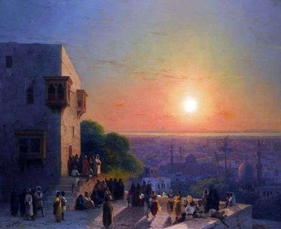 Описание картины Ивана Айвазовского «В Каире»