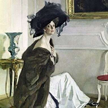 Описание картины Валентина Серова «Портрет Орловой»