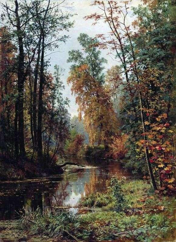 Описание картины Ивана Шишкина «Парк в Павловске»