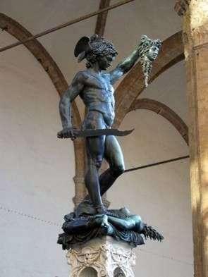 Описание скульптуры Бенвенуто Челлини «Персей»