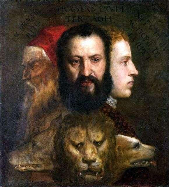 Описание картины Тициана Вечеллио «Аллегория времени» (Благоразумия)