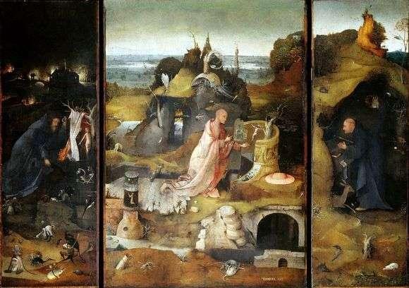 Описание картины Иеронима Босха «Святые отшельники»