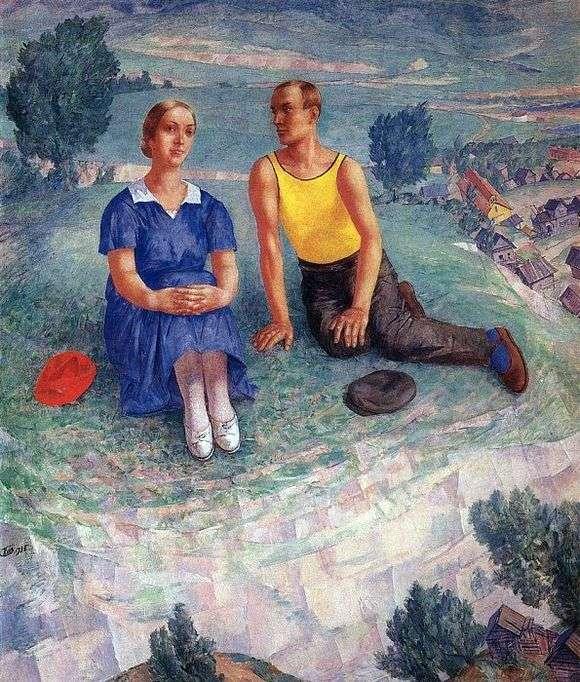 Описание картины Кузьмы Петрова Водкина «Весна»