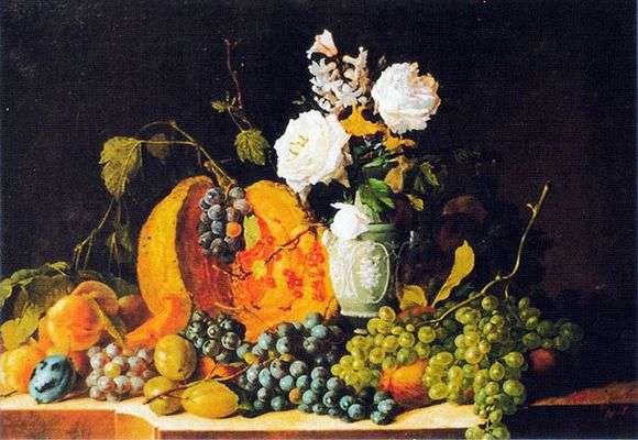 Описание картины Ивана Козловского «Натюрморт»