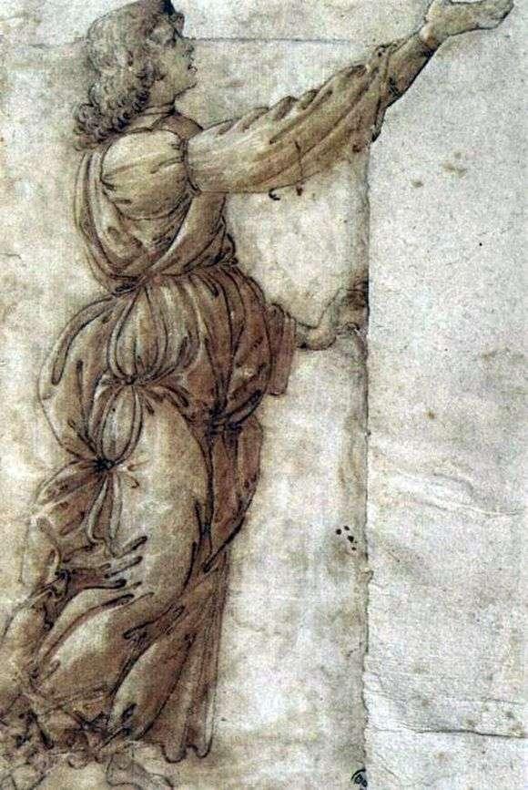 Описание картины Сандро Боттичелли «Ангел»