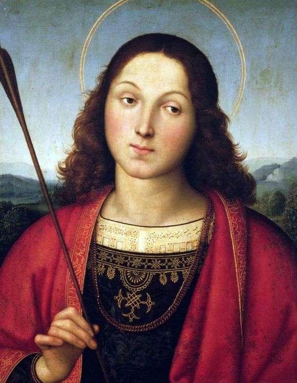 Описание картины Рафаэля Санти «Святой Себастьян»