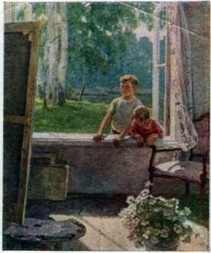 Описание картины Екатерины Сыромятниковой «Первые зрители»