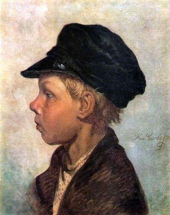 Описание картины Николая Чехова «Крестьянский мальчик»