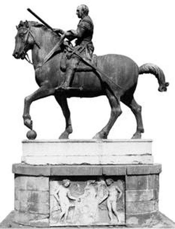 Описание статуи Донателло «Конная статуя Гаттамелаты»