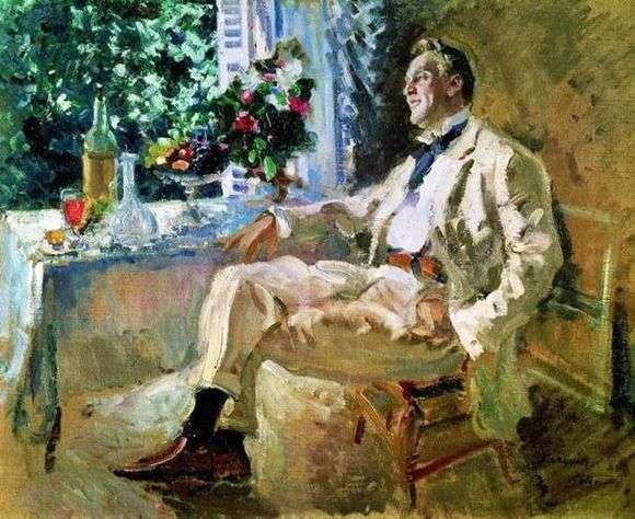 Описание картины Константина Коровина «Портрет Шаляпина»