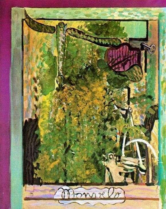 Описание картины Жоржа Брака «Мой велосипед»