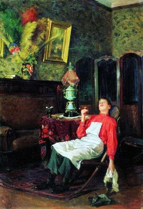 Описание картины Владимира Маковского «Без хозяина»
