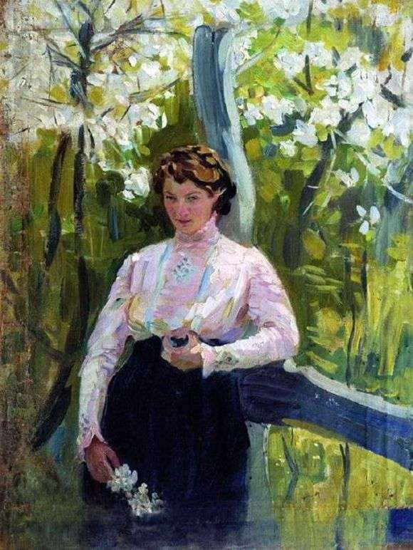 Описание картины Ивана Куликова «Весна»