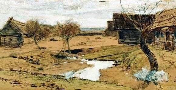 Описание картины Исаака Левитана «Весна пришла»