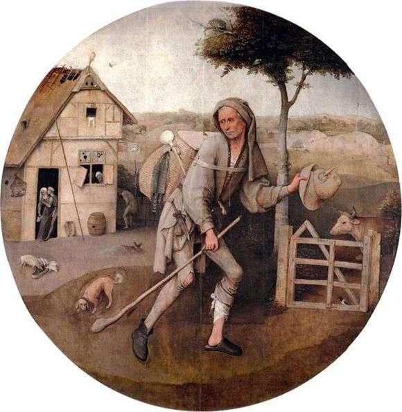 Описание картины Иеронима Босха «Блудный сын»