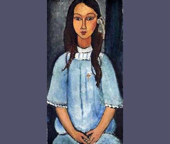 Описание картины Амедео Модильяни «Алиса»