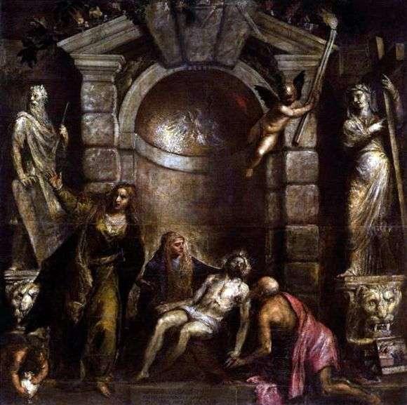 Описание картины Тициана «Оплакивание Христа»