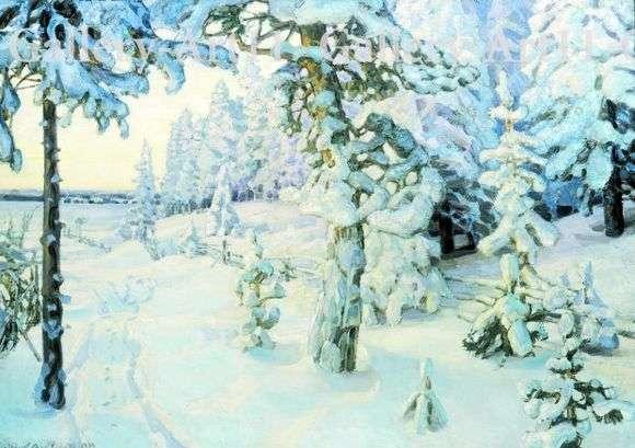 Описание картины Аполлинария Васнецова «Зимний сон» (Зима)