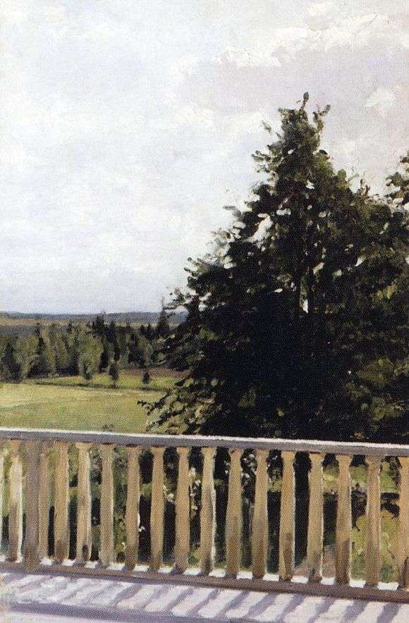 Описание картины Валентина Серова «Балкон»