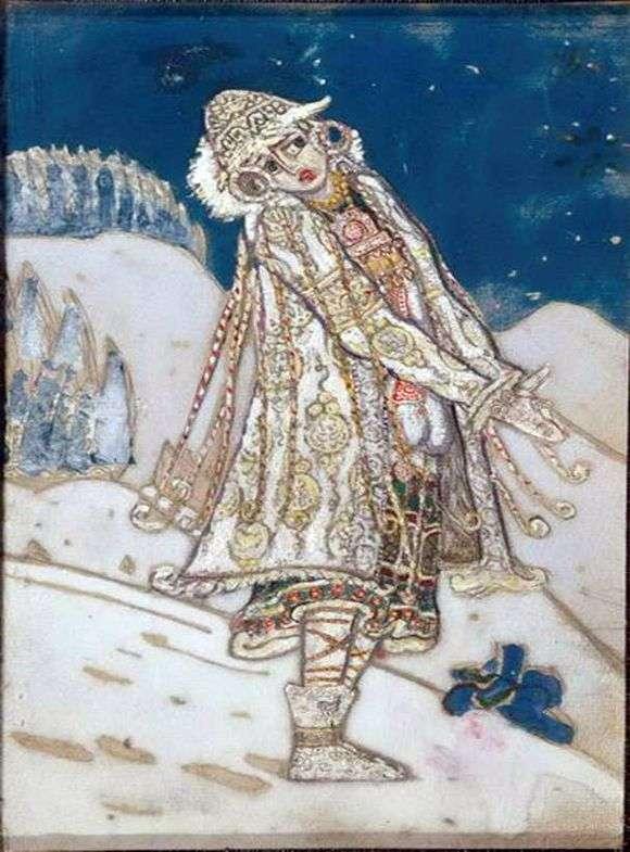 Описание картины Николая Рериха «Снегурочка»