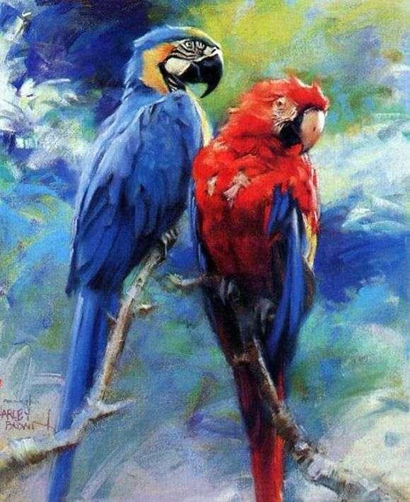 Описание картины Харлея Брауна «Только для птиц»