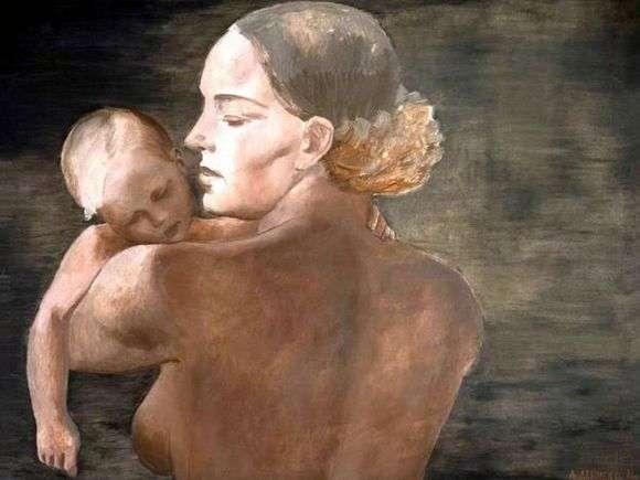 Описание картины Александра Дейнека «Мать»