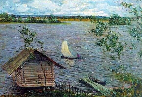 Описание картины Николая Ромадина «Свежий ветер»