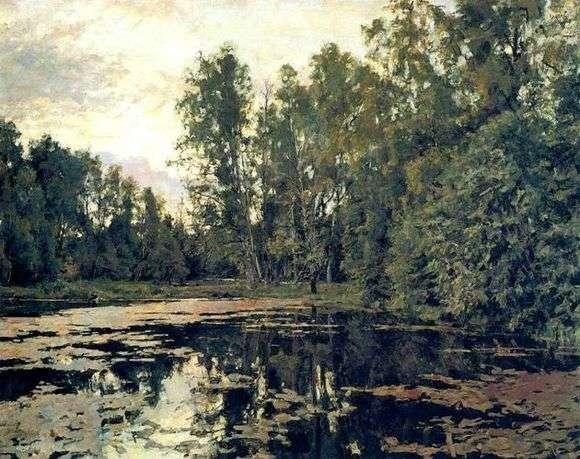Описание картины Валентина Серова «Заросший пруд»