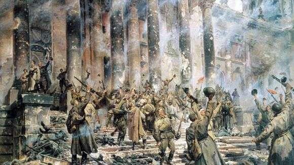 Описание картины Петра Кривоногова «Победа»