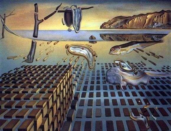 Описание картины Сальвадора Дали «Дезинтеграция постоянства памяти»