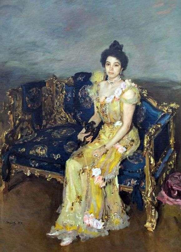 Описание картины Валентина Серова «Портрет Софии Боткиной»