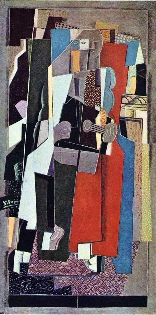 Описание картины Жоржа Брака «Музыкант»