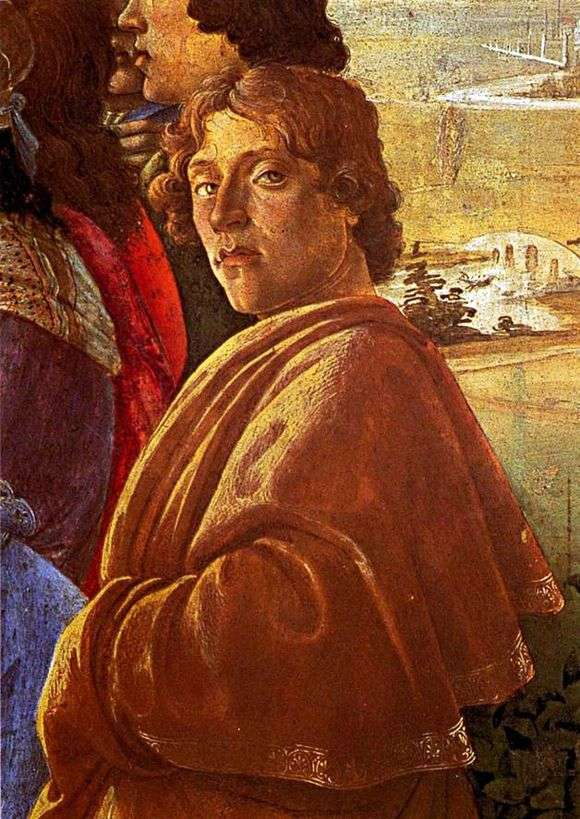 Описание картины Сандро Боттичелли «Автопортрет»