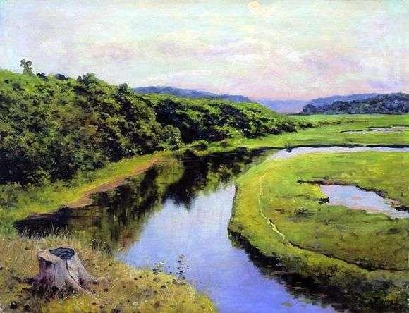 Описание картины Василия Поленова «Река»