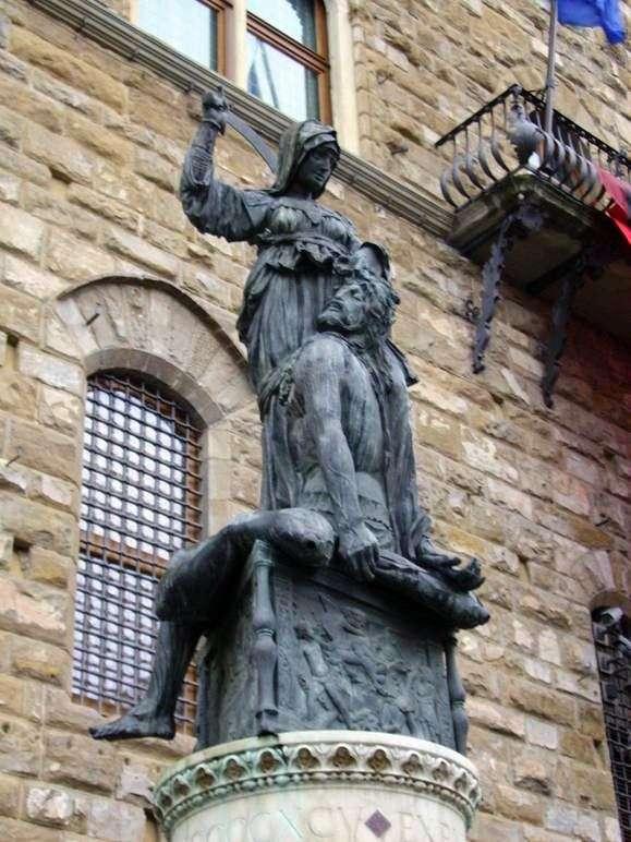Описание статуи Донателло «Юдифь и Олоферн»