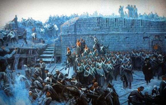 Описание панорамы Франца Рубо «Оборона Севастополя»
