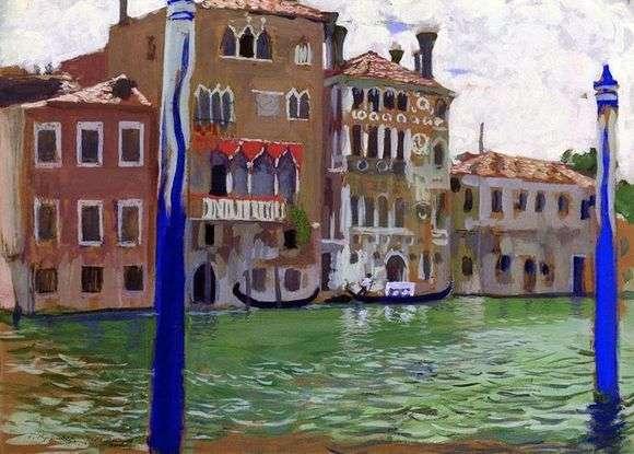 Описание картины Бориса Кустодиева «Венеция»
